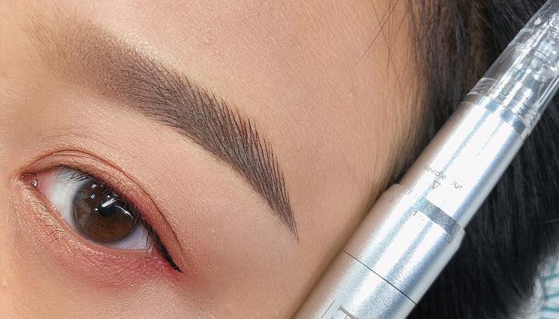 油性皮肤在操作过程中要提高走针的密度,并且也要比其它皮肤要深一点,这样才能更深的埋入色料